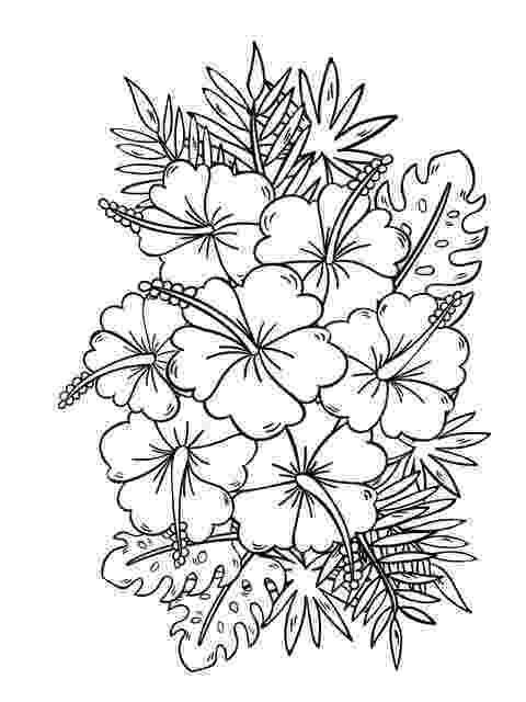 floral designs coloring book free printable flower coloring pages for kids best coloring book floral designs