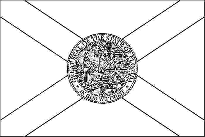 florida flag coloring page florida state flag florida page coloring flag