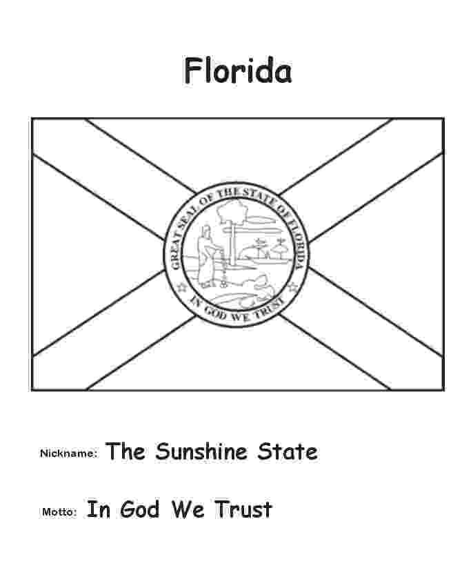 florida flag coloring page florida symbols facts funsheet pack of 30 coloring flag florida page
