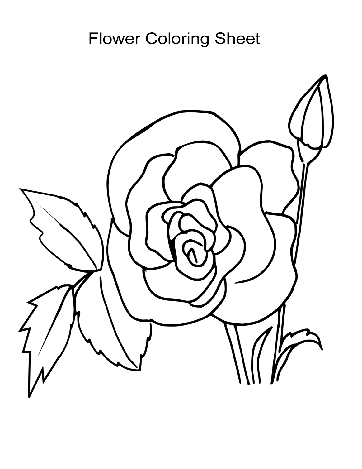 flower coloring pages for girls 10 flower coloring sheets for girls and boys all esl flower coloring girls for pages