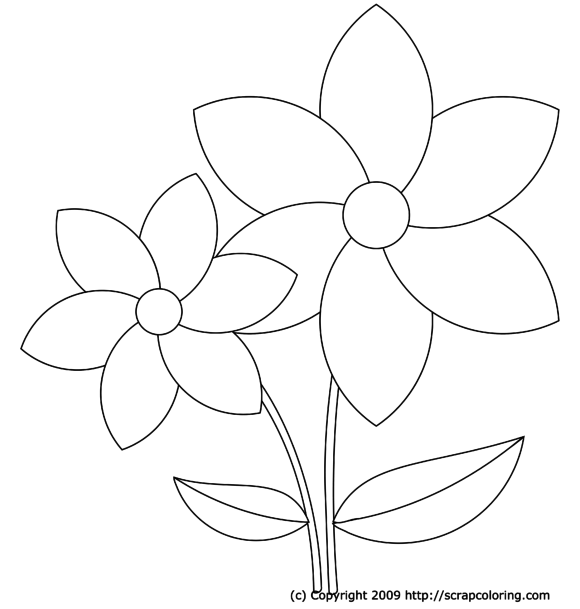 flower coloring pages for girls some common variations of the flower coloring pages for coloring flower pages girls