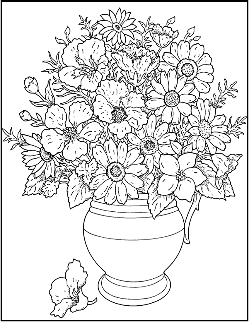 flower coloring patterns beautiful flower coloring pages with delicate forms of patterns flower coloring