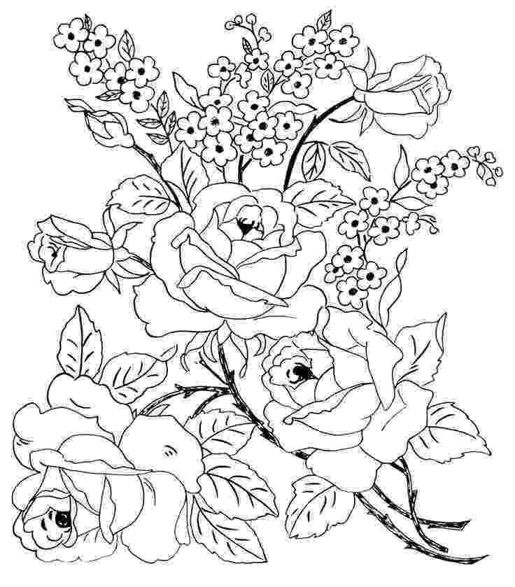 flower coloring patterns blogginess embroidery patterns patterns coloring flower