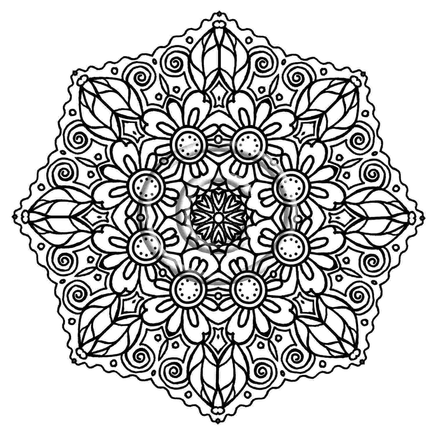 flower coloring patterns flower pattern coloring page free printable coloring pages flower patterns coloring