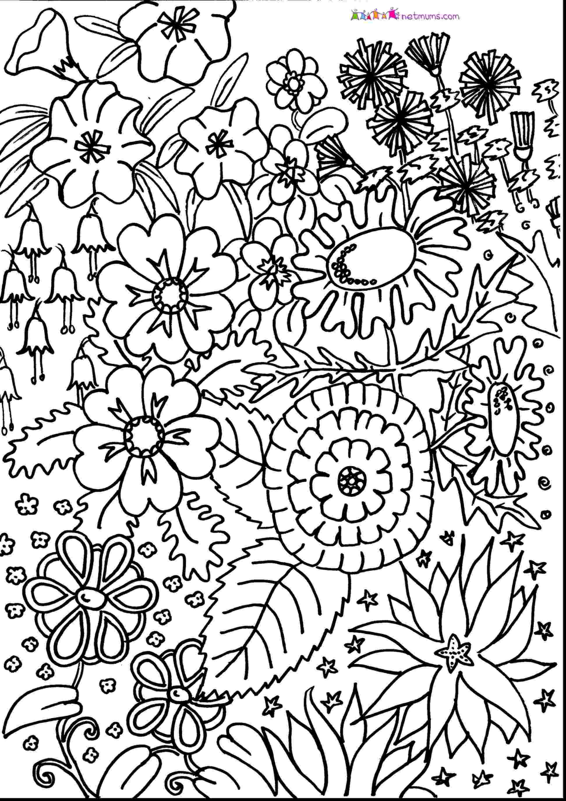 flower coloring patterns free coloring pages round up for grown ups rachel teodoro coloring patterns flower