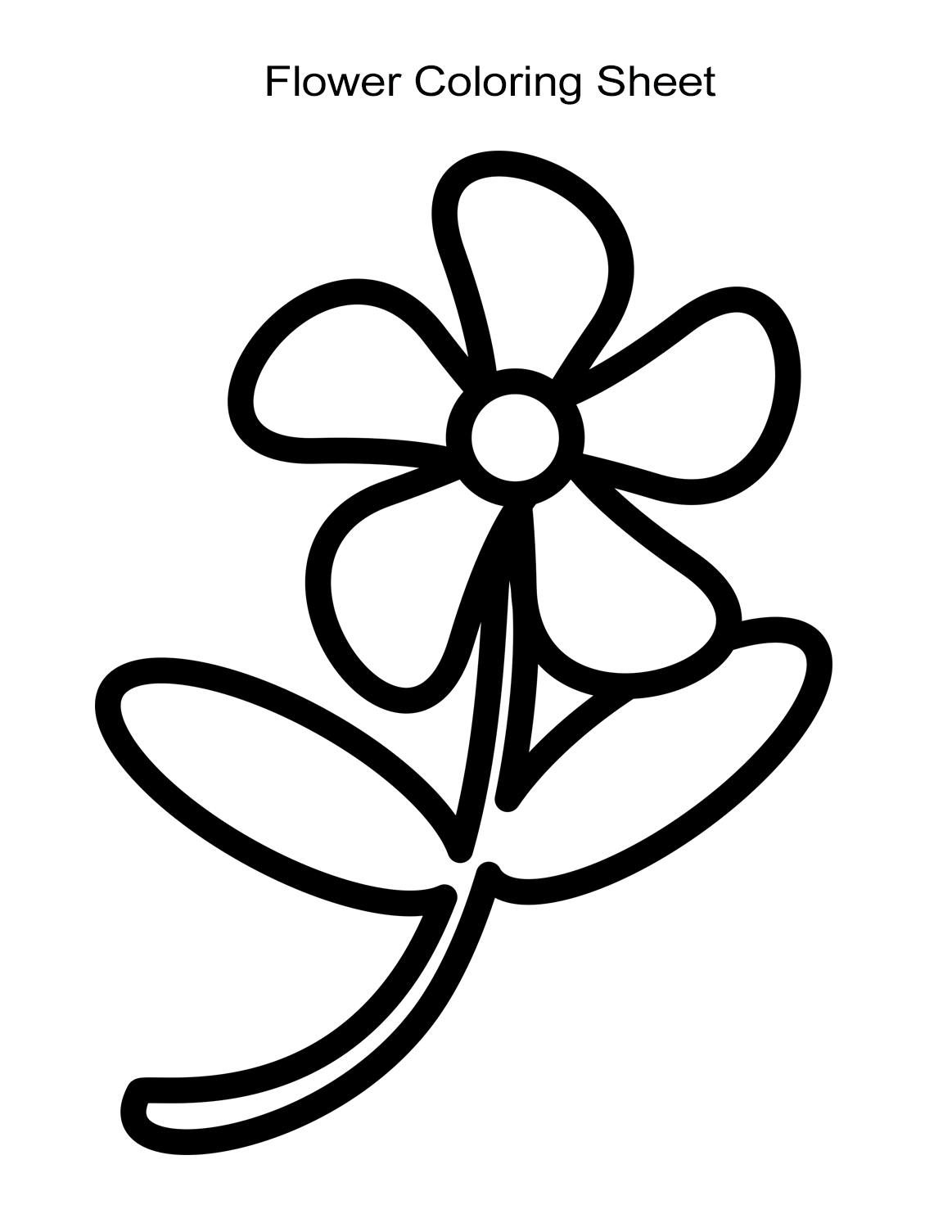 flower for coloring 10 flower coloring sheets for girls and boys all esl for flower coloring