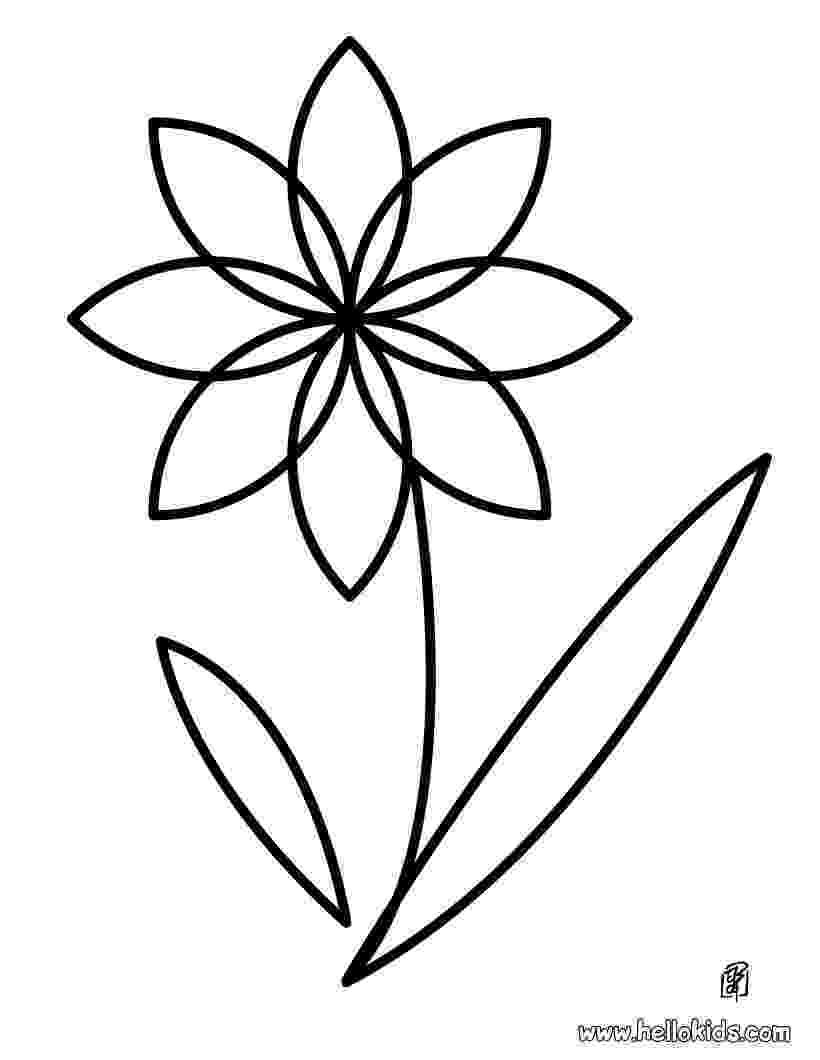 flower for coloring flower coloring pages hellokidscom flower coloring for