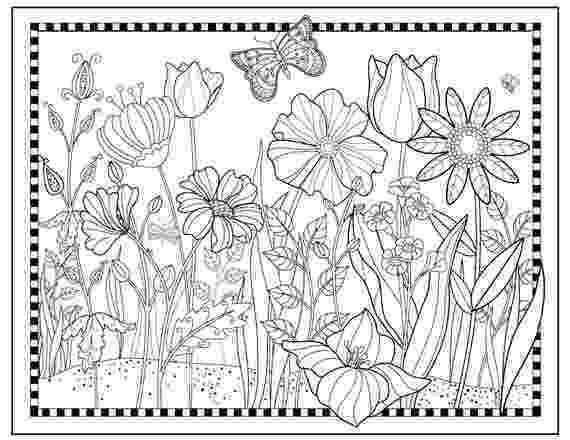 flower garden colouring picture flower garden coloring pages to download and print for free colouring flower garden picture