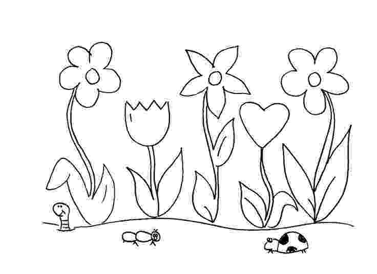 flower garden colouring picture flowers in the garden coloring page free printable picture flower garden colouring