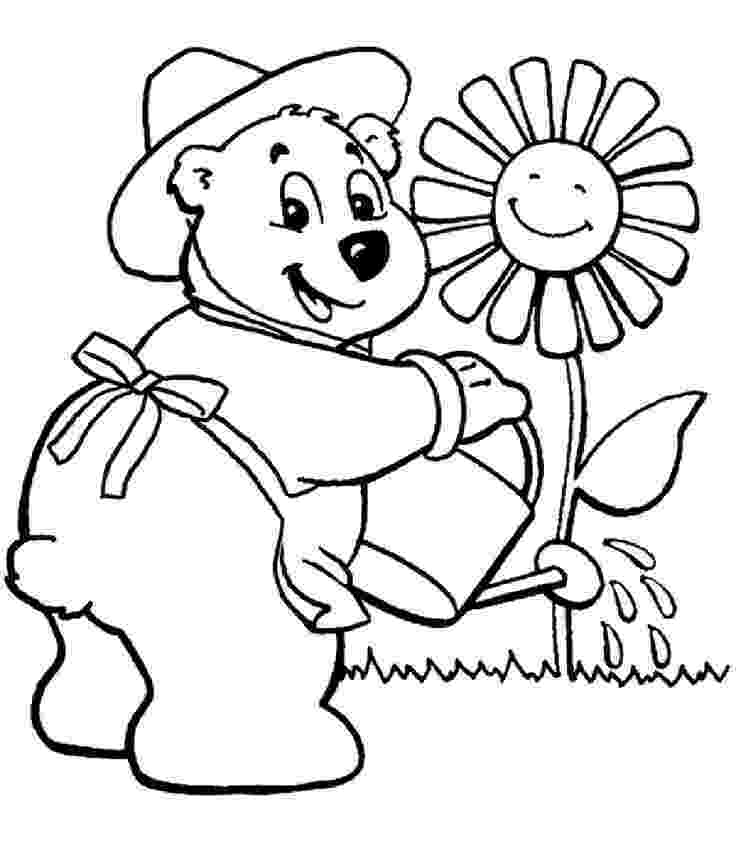 flower garden colouring picture i love my garden coloring pages color luna colouring garden flower picture