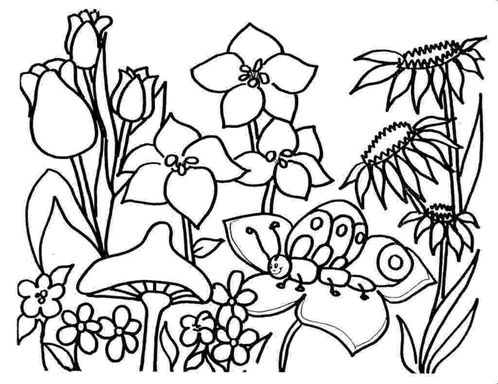 flower images to color free printable flower coloring pages for kids cool2bkids color to images flower
