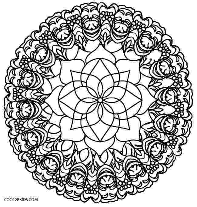 flower kaleidoscope coloring pages printable kaleidoscope coloring pages for kids cool2bkids flower kaleidoscope coloring pages