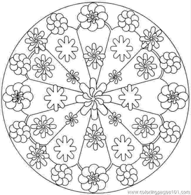 flower kaleidoscope coloring pages printable kaleidoscope coloring pages free printable kaleidoscope flower pages coloring