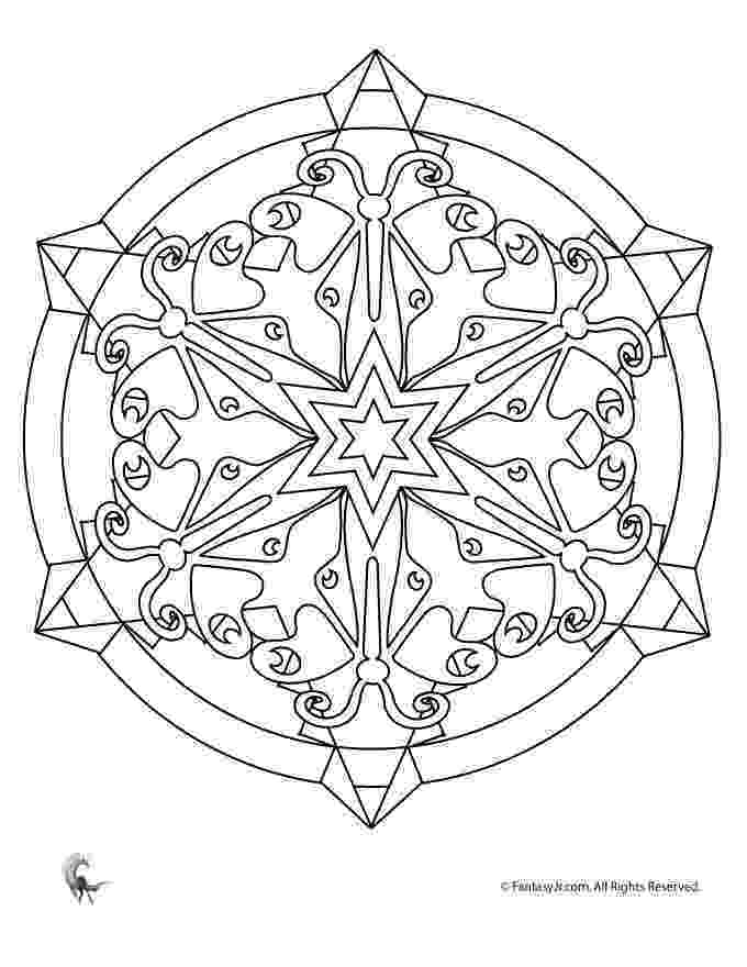 flower kaleidoscope coloring pages square flower kaleidoscope coloring pages coloring4free kaleidoscope flower coloring pages