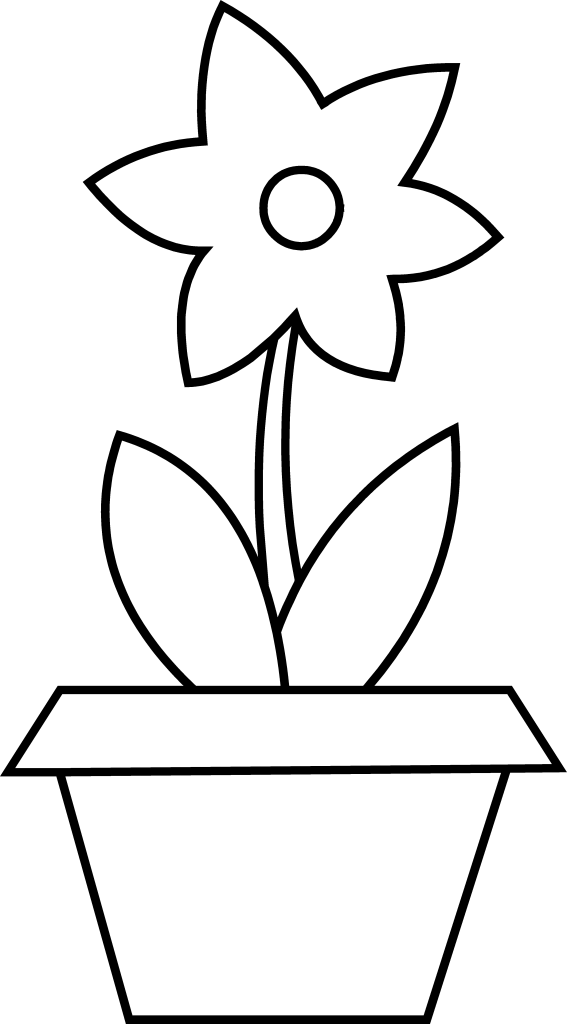 flower pot coloring page flower pot coloring pages coloring pages to download and coloring pot flower page
