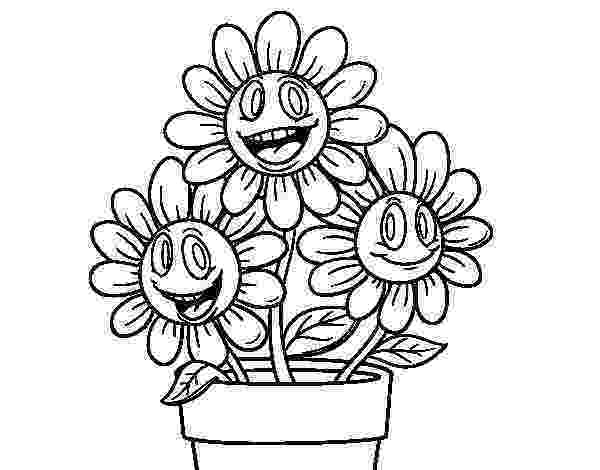 flower pot coloring page flower pot coloring pages getcoloringpagescom pot flower page coloring