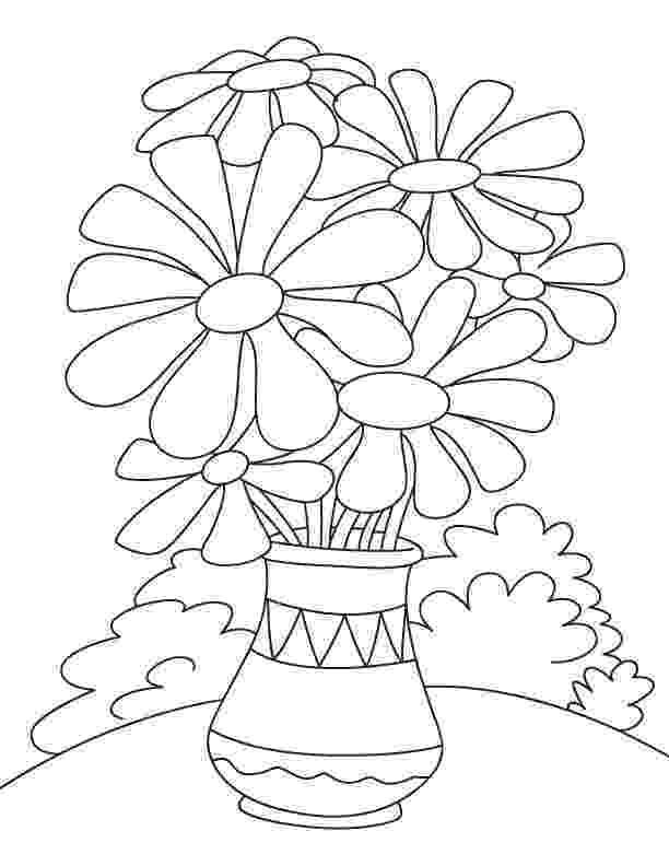 flower pot coloring page marijuana free coloring pages pot flower page coloring
