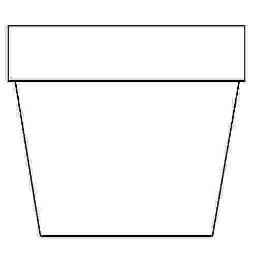 flower pot coloring page print download some common variations of the flower pot coloring flower page