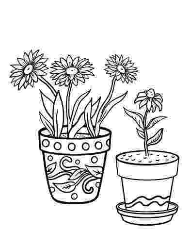 flower pot coloring page printable flower pot shape image coloring page flower coloring page pot