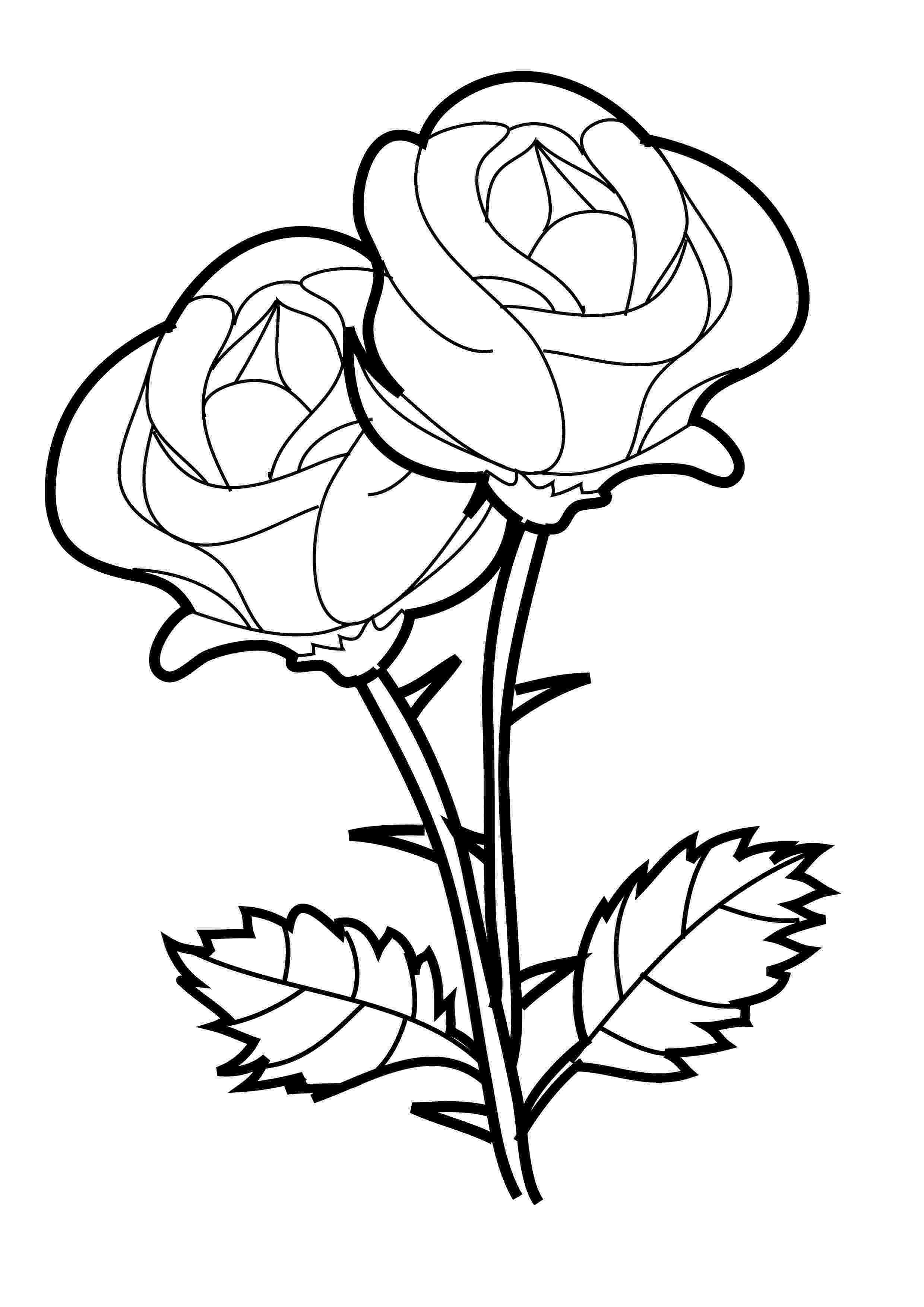 flowers color pages free printable flower coloring pages for kids best flowers color pages 1 4