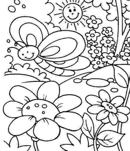 flowers coloring pages for kids simple flower coloring pages getcoloringpagescom coloring kids flowers for pages