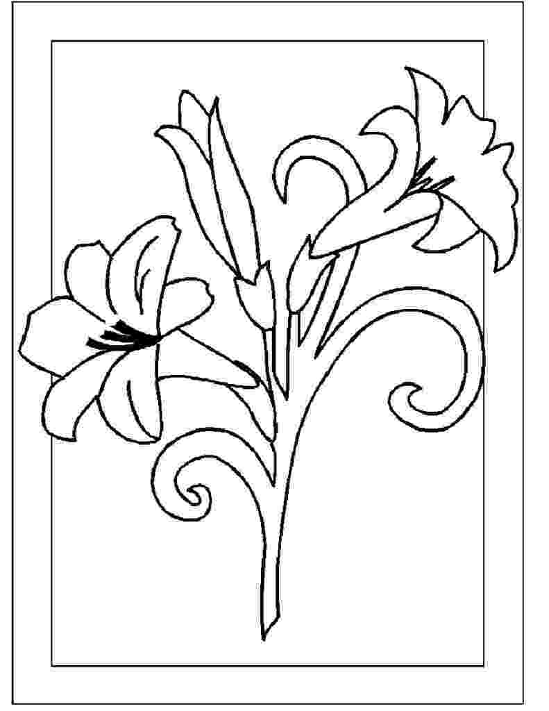 flowers you can print and color coloring pages flower coloring pages part hello kitty you can flowers color print and