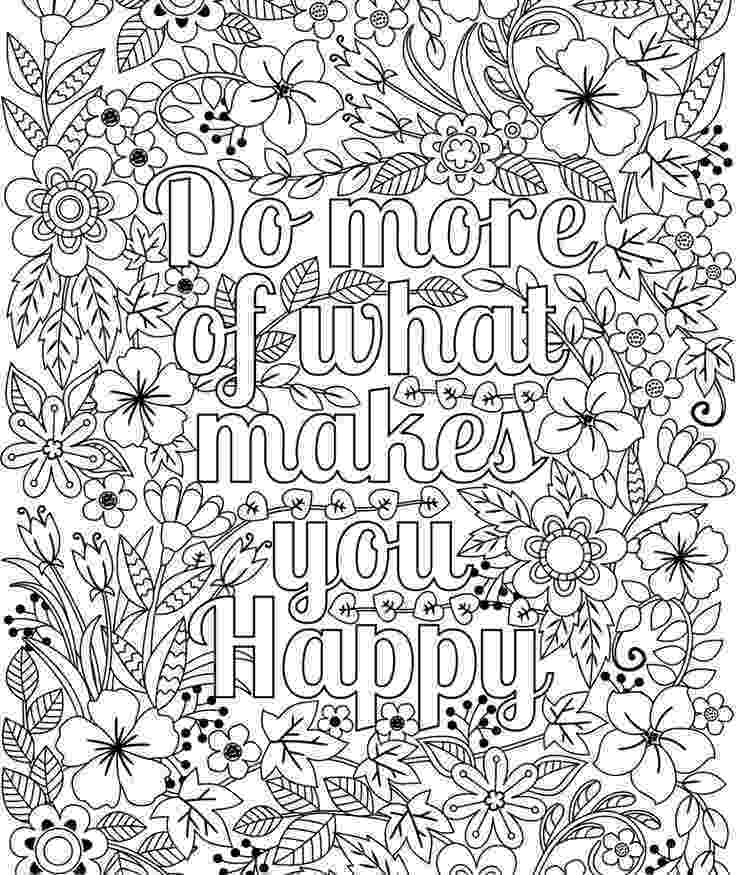 flowers you can print and color do more of what makes you happy coloring page for kids and you print flowers color can