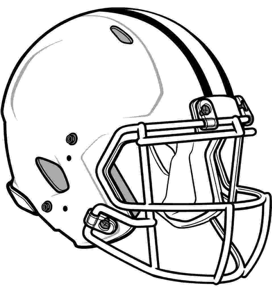 football helmets coloring pages printable football helmets clipartsco helmets pages coloring football