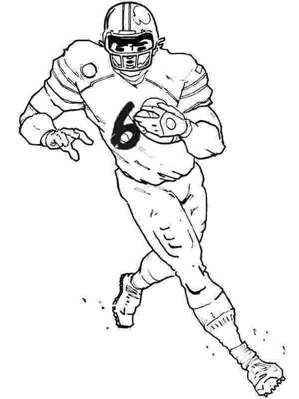 football players coloring pages printable football player coloring pages for kids cool2bkids coloring pages football players