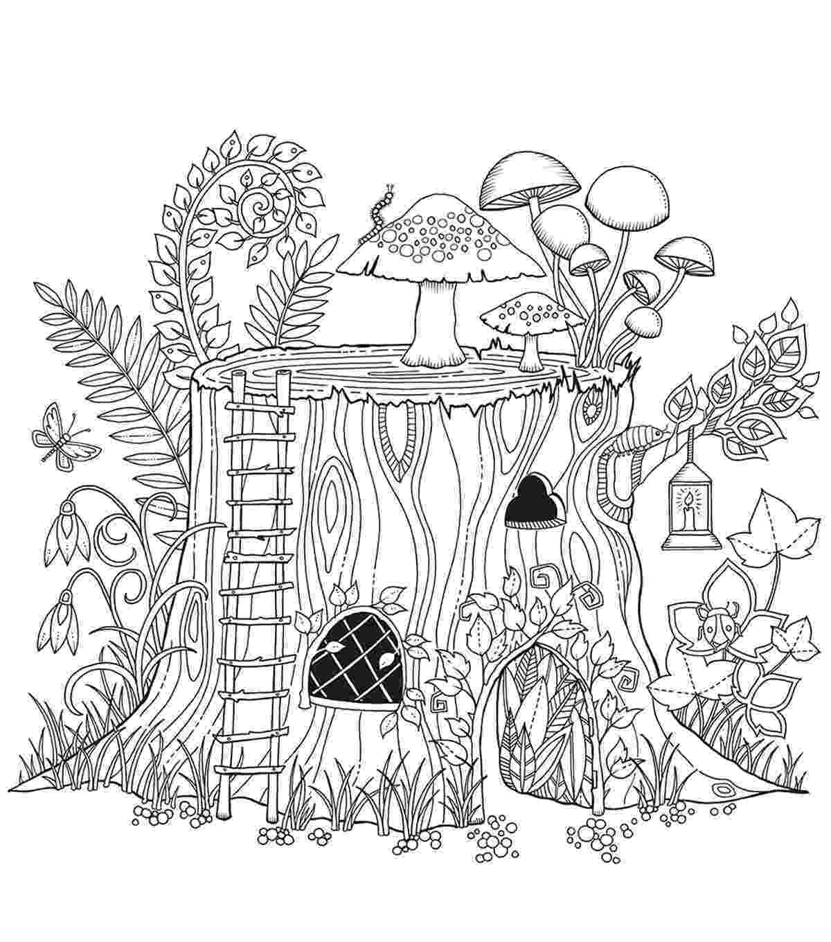 forest coloring sheets chronicle books enchanted forest coloring book joann joann sheets coloring forest