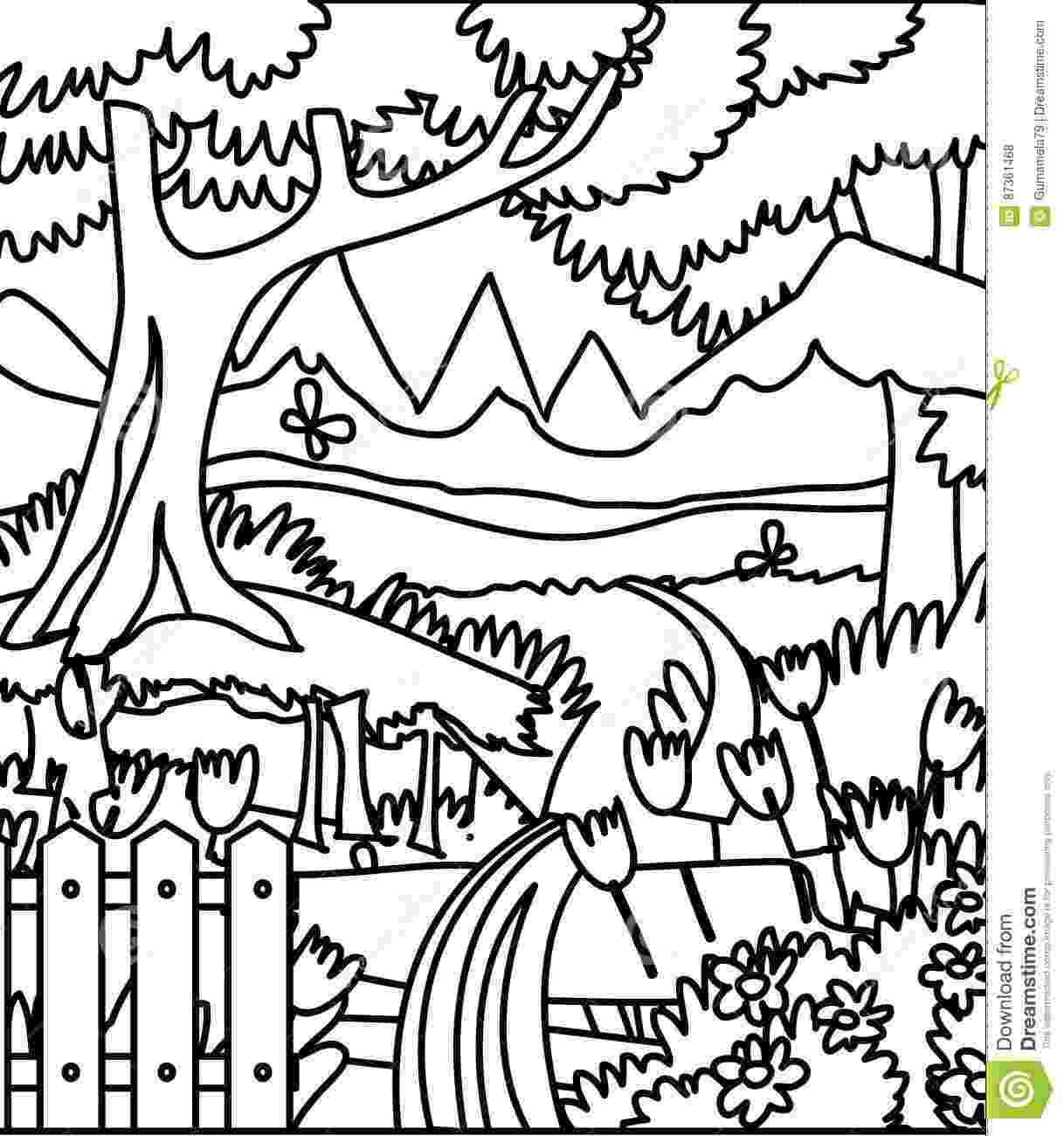 forest coloring sheets forest coloring pages download and print forest coloring forest coloring sheets
