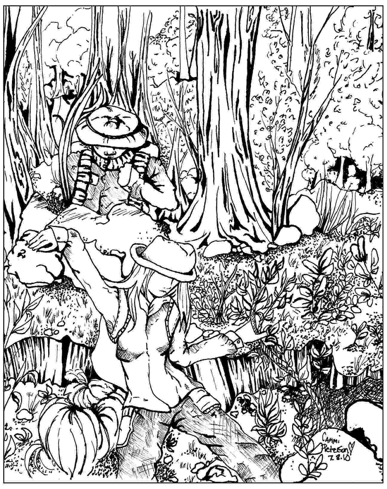 forest coloring sheets forest coloring pages download and print forest coloring forest coloring sheets 1 1