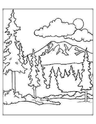 forest coloring sheets preschool forest coloring pages coloring sheets forest