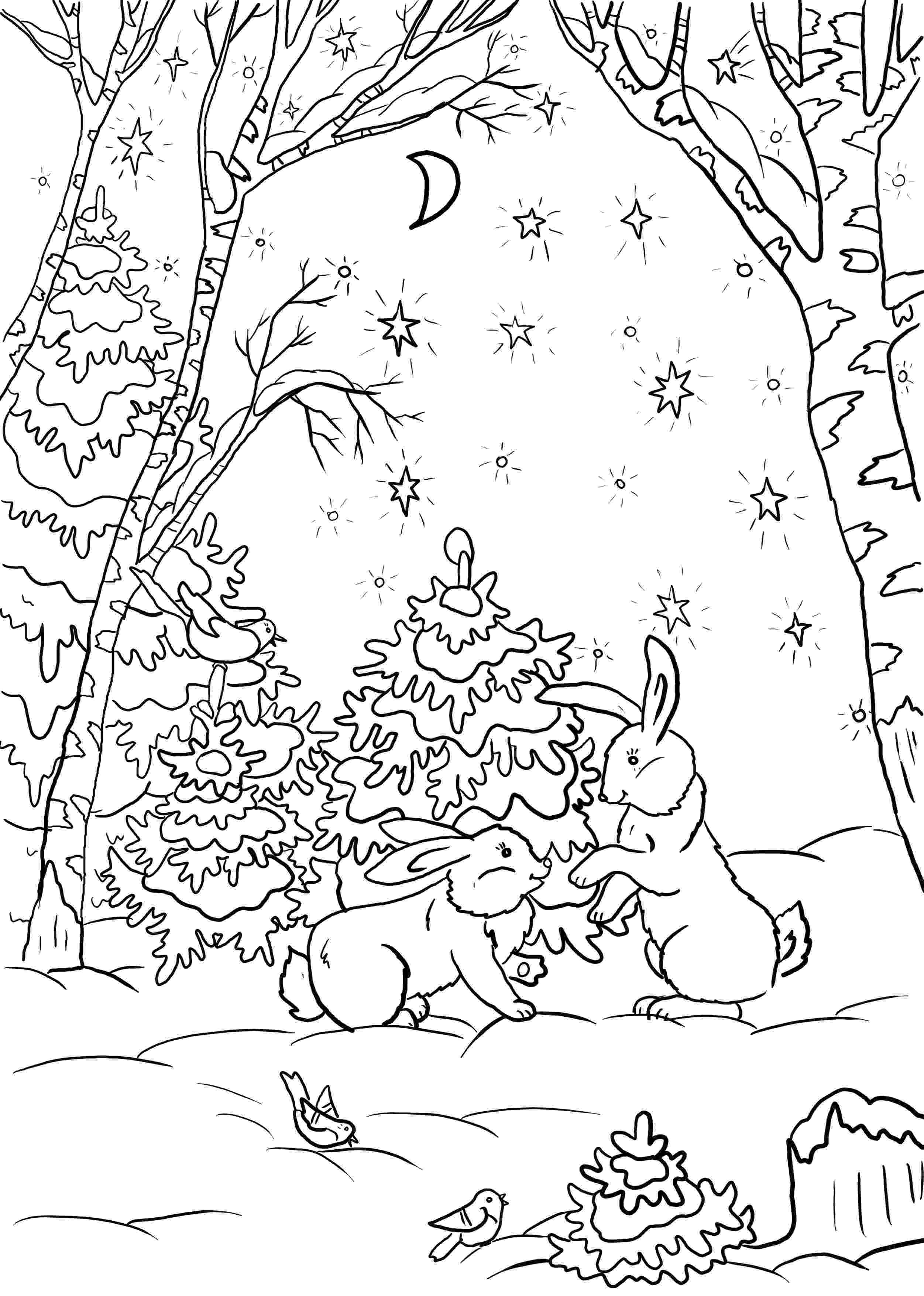 forest coloring sheets surlalune fairy tales blog art thursday enchanted forest coloring sheets forest