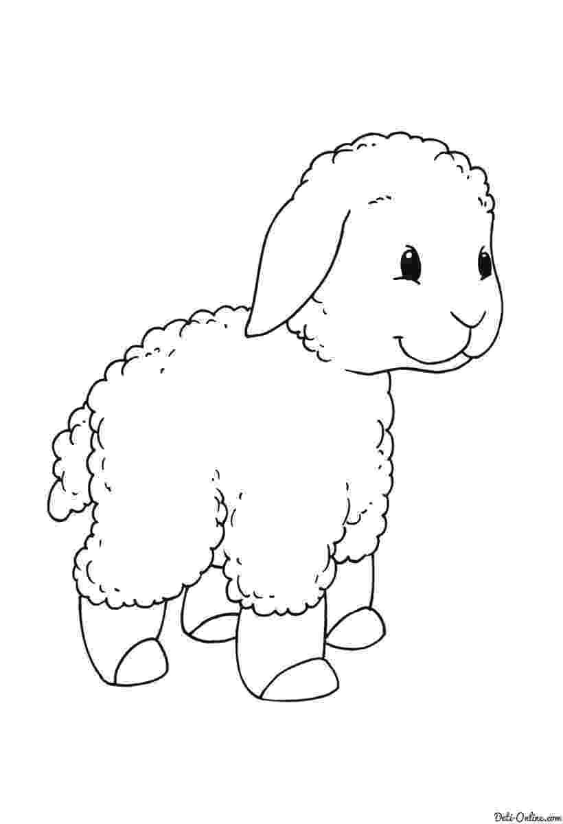 fotos de ovejas para imprimir dibujos de animales ovejas para colorear para ovejas de fotos imprimir