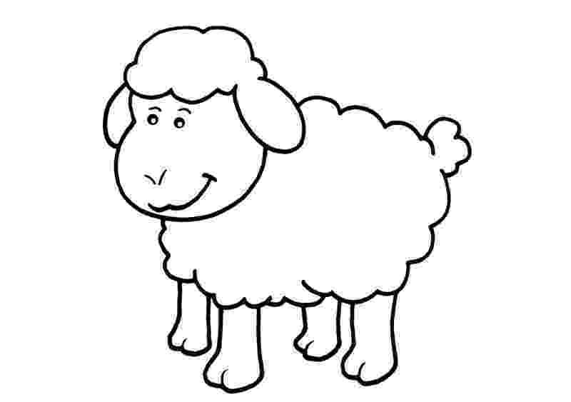 fotos de ovejas para imprimir dibujos de ovejas para colorear y pintar de para ovejas imprimir fotos
