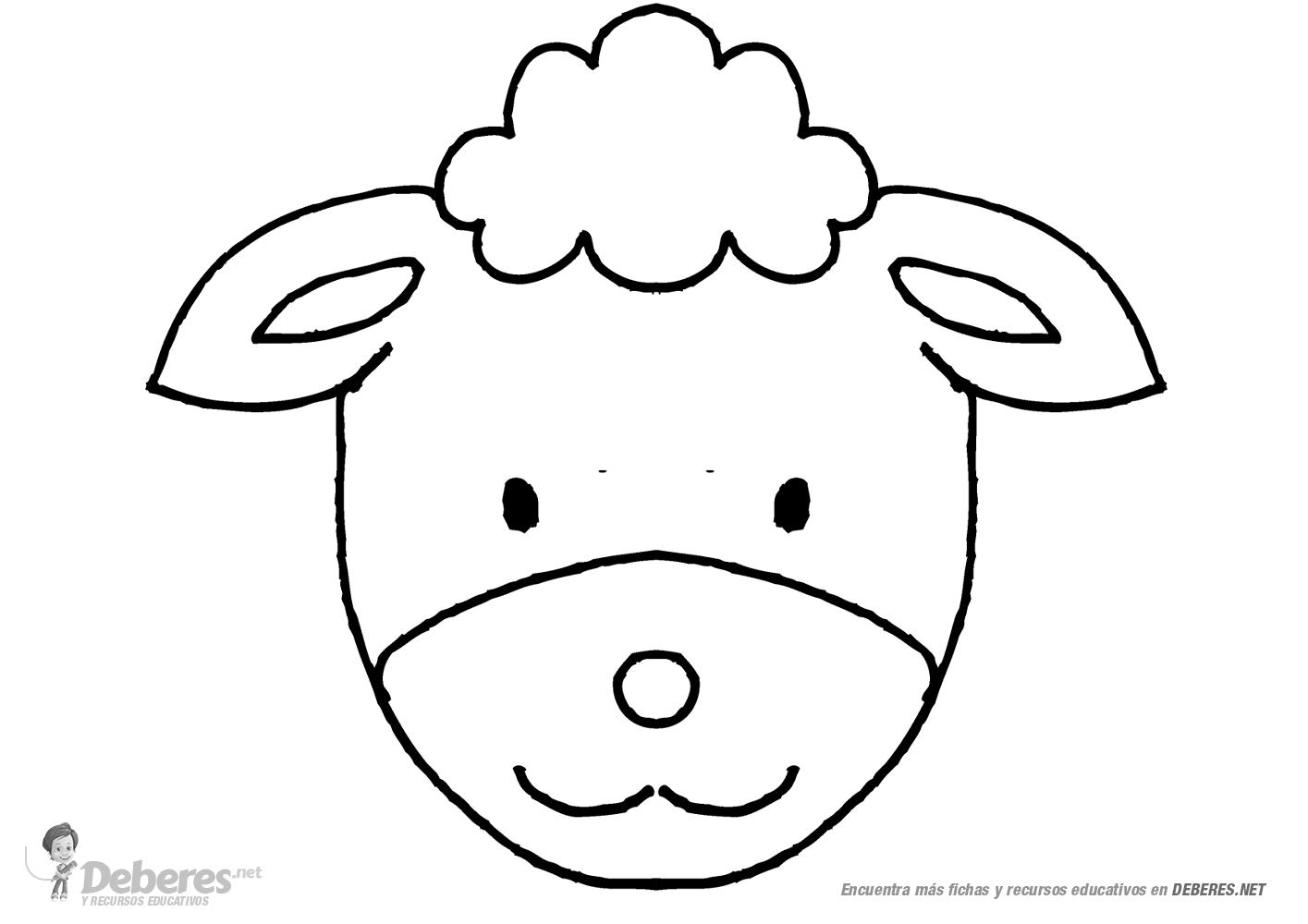 fotos de ovejas para imprimir oveja para dibujar y colorear fotos de para imprimir ovejas