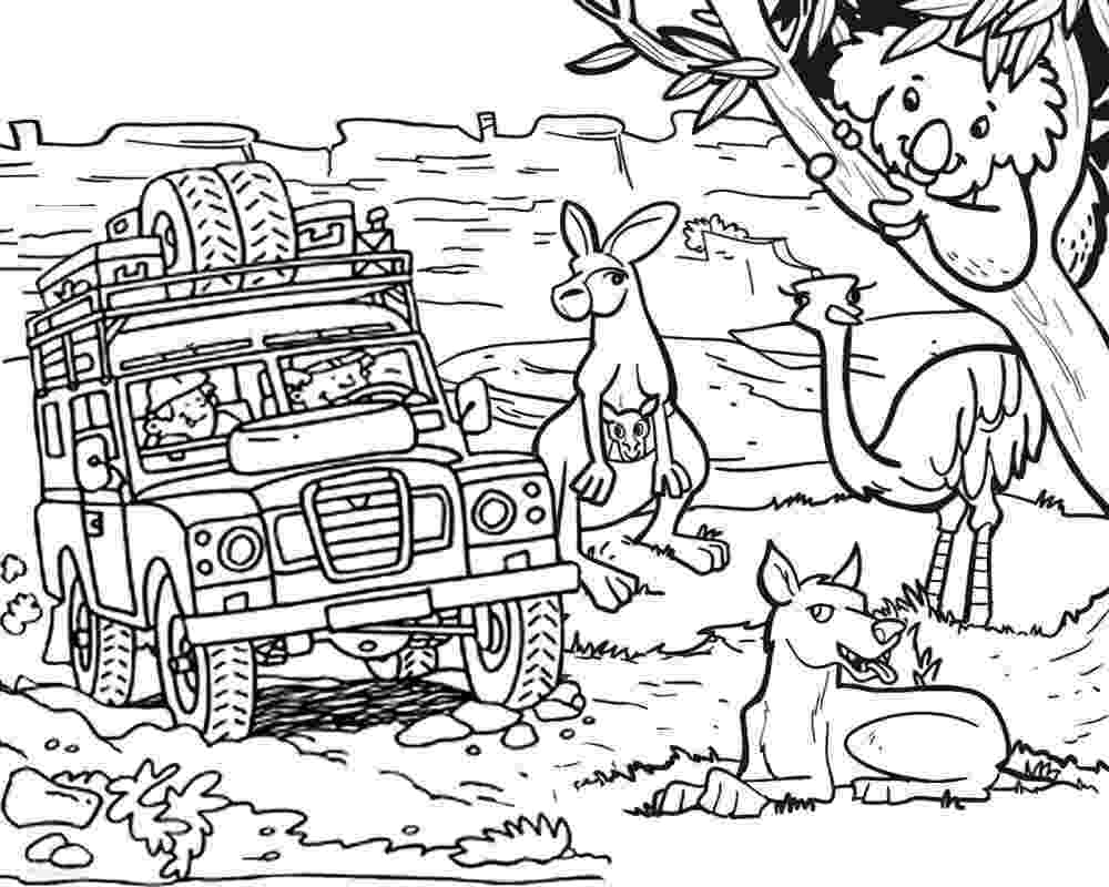 free australian colouring pages australian animals colouring pages brisbane kids free colouring australian pages