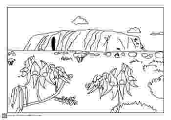 free australian colouring pages australian outback colouring pages and pre coloured by free australian pages colouring