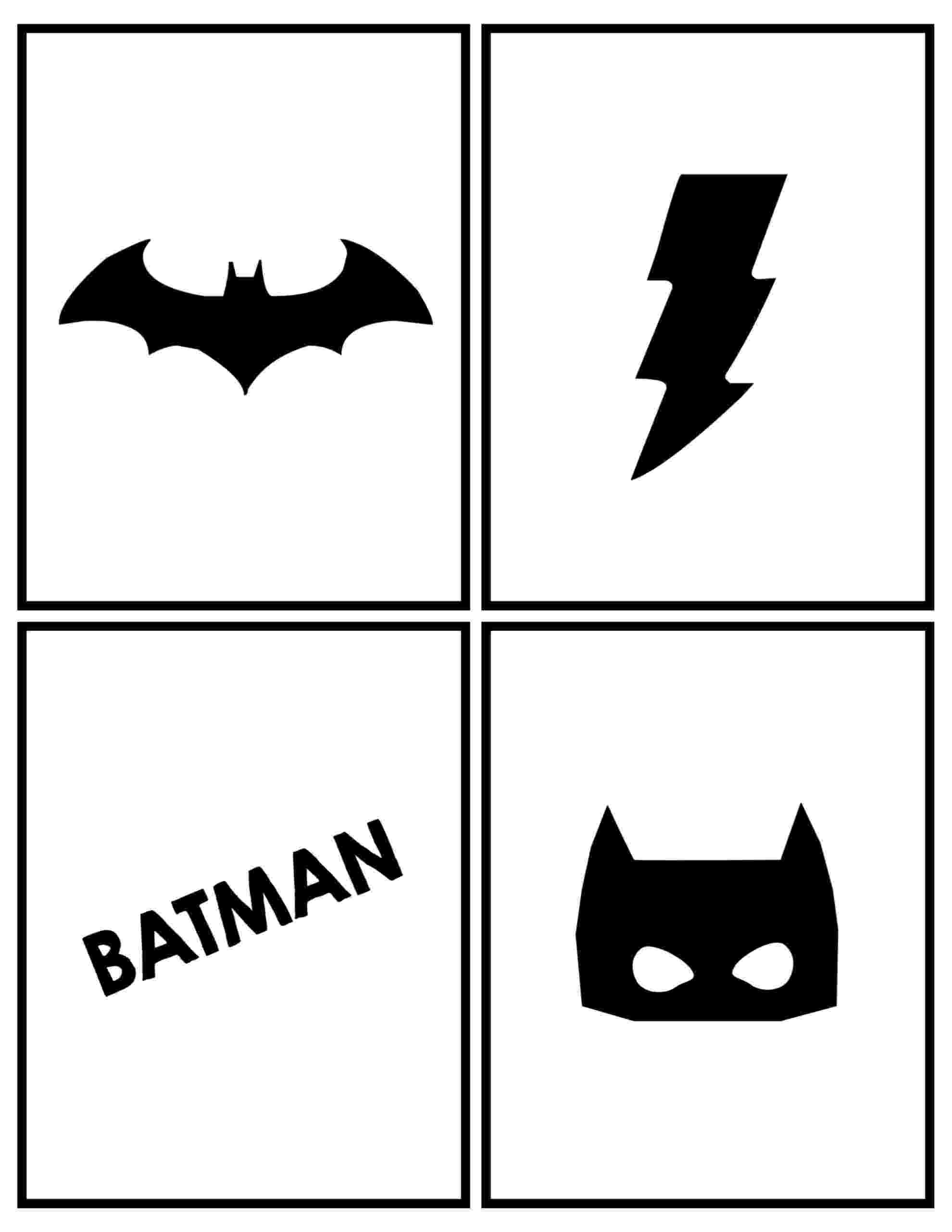 free batman printables batman party banner free printable paper trail design batman printables free