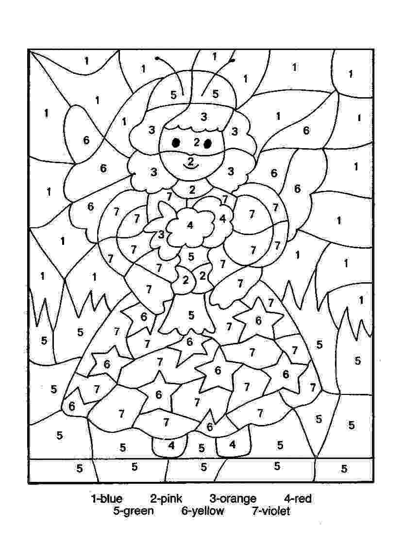 free color by number pages color by number coloring pages to download and print for free free number by pages color