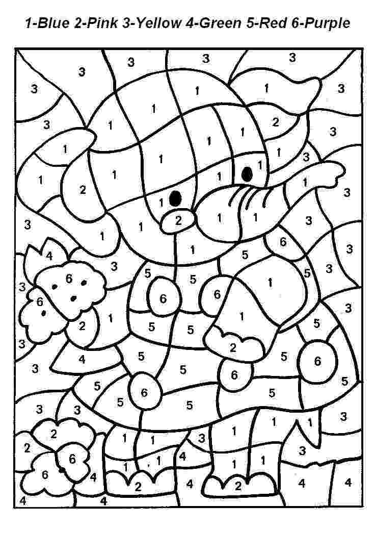 free color by number pages free color by number printablesgreat for kids of all number pages free color by
