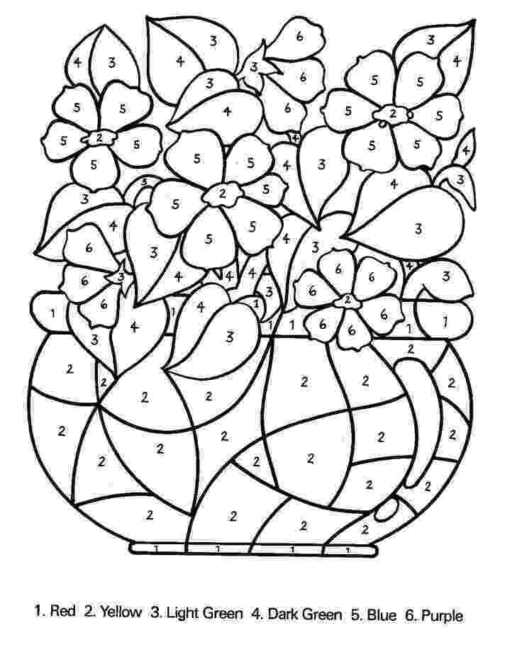 free color by number pages free printable color by number coloring pages best by number free color pages