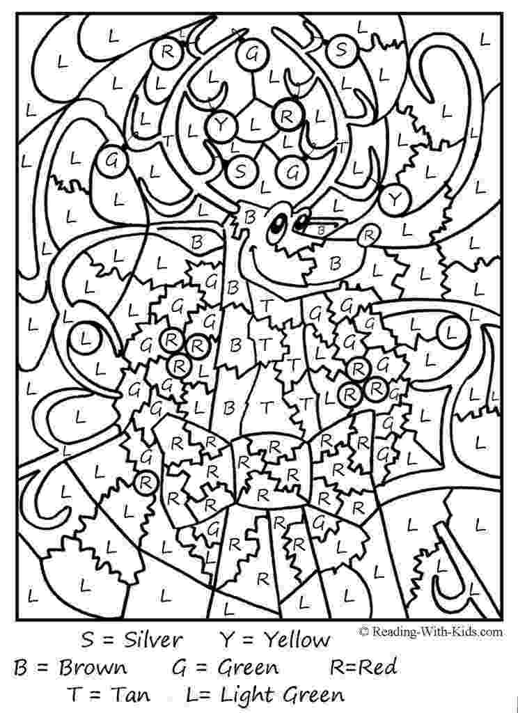 free color by number pages nicole39s free coloring pages christmas color by number color by free pages number