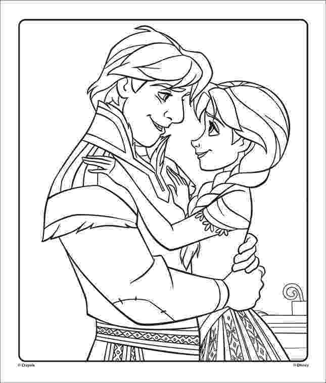 free coloring book printables anna kristoff from disneys frozen 1 free coloring printables coloring free book