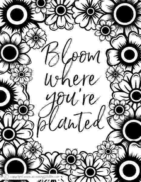 free coloring book printables free printable adult coloring pages quotfloral inspiration printables free coloring book