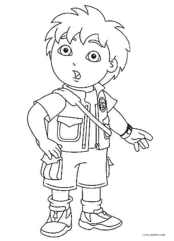 free coloring book printables free printable diego coloring pages for kids cool2bkids coloring printables book free