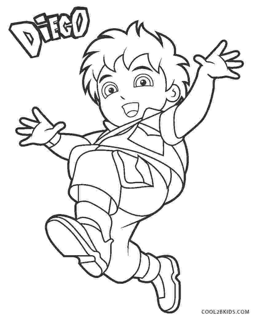 free coloring book printables free printable diego coloring pages for kids cool2bkids free coloring book printables