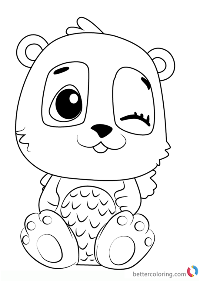 free coloring book printables pandor from hatchimals coloring pages free printable book free printables coloring