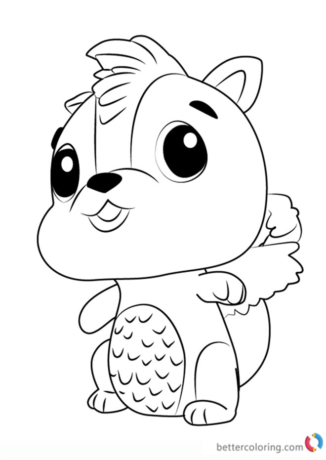 free coloring book printables skunkle from hatchimals coloring pages free printable free book printables coloring